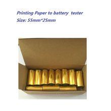 Papier dimpression pour testeur de batterie de voiture