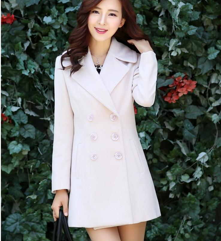 Longue Costume Version 2018 Et Mode Femmes Pardessus De D'hiver Automne Laine Tendance Mince Dans La Nouvelle Manteau Coréenne rIaqOSI