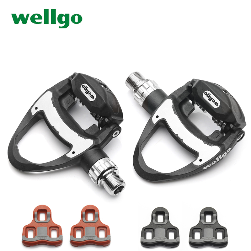 ROCKBROS Road Bike Titanium Axle Clipless Pedals With LOOK Cleats Black