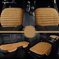 Karcle 1 ШТ. Универсальный Бархат Автомобиля охватывает Плюшевые Сиденья Водителя, Подушка Автомобиля Стайлинг Авто Аксессуары Анти-slip Pad Protector