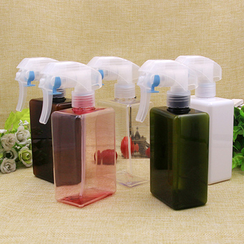 6pcs/lot 300ml Multicolor Packing Bottle Spray Trigger Hand Sample Tools Liquid,Flower Watering, Hydrating Cosmetic Containers