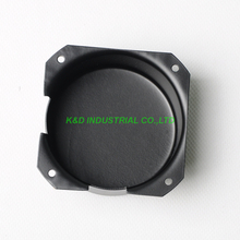 1pc 80x40 Black Toroid Transformer Cover box Protect Chassis Case For Tube Amp