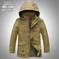 Original Marca AFS JEEP Homme Hombres Encapuchados Chaquetas Sueltas Tamaño M-5XL Otoño Invierno 2016 Bolsillos Diseño Ocasional de Los Hombres Outwear abrigos