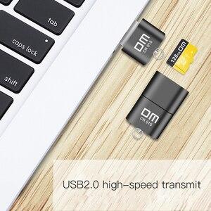 Image 4 - 혁신적인 TF 카드 슬롯이있는 DM CR015 마이크로 SD 카드 리더기는 컴퓨터 또는 자동차 용 usb 플래시 드라이브로 카드 리더를 변경합니다.
