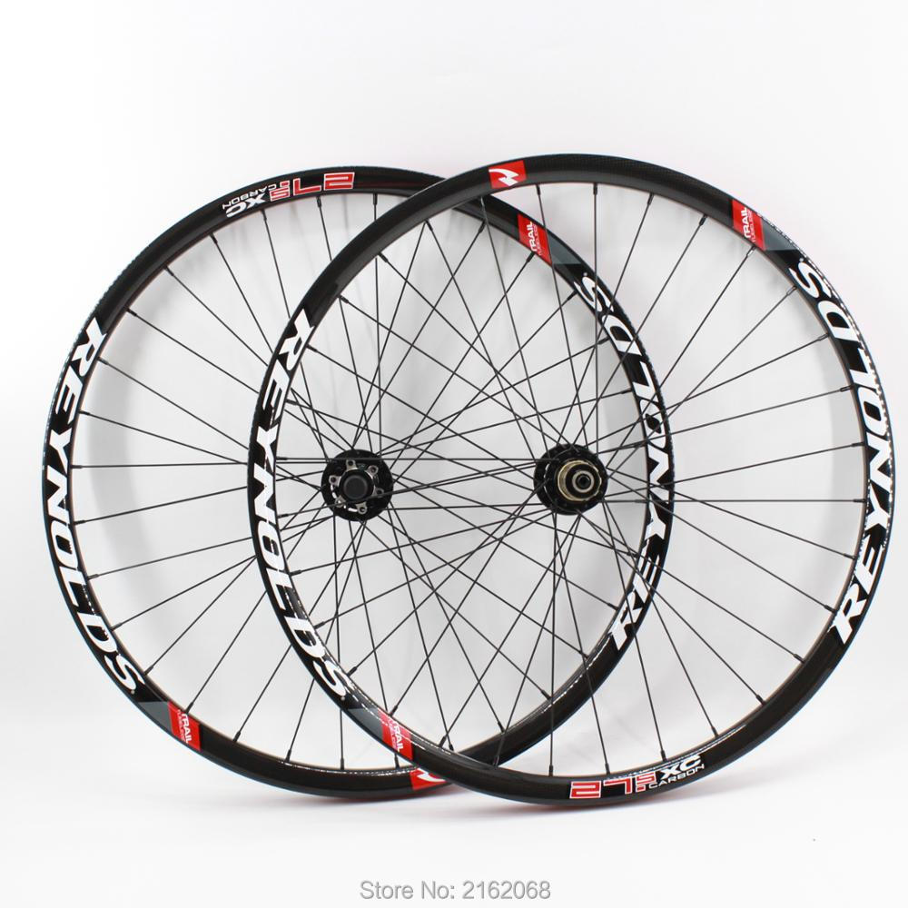 Newest 26/27.5/29er inch light clincher rim Mountain bike 3K UD 12K full carbon fibre bicycle disc brake wheelset MTB Free ship free shipping lutu xt wheelset mtb mountain bike 26 27 5 29er 32h disc brake 11 speed no carbon bicycle wheels super good