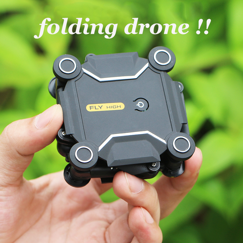 Mini Drone Helicopter Camera Micro-Pocket Foldable Altitude Hold FPV Wifi With HD S16