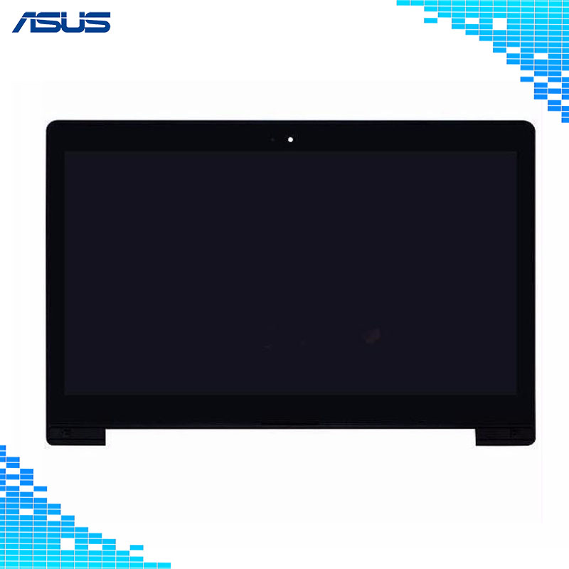 Asus LCD Display Touch Screen Assembly with frame Replacement Part For Asus VivoBook S400 S400C S400CA LCD screen For Asus S400 все цены