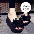 Women Wedges Shoes Woman Slippers Platform Sandals New Fashion 2017 summer Ladies Shoes Hot Sandalias Mujer