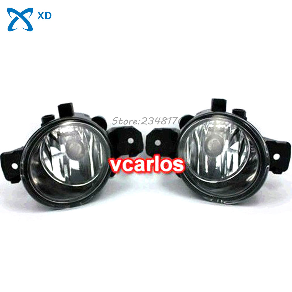 12V 55W Fog lights Lamp for NISSAN MICRA MARCH 2005~2009 ~ ON Clear Lens PAIR SET + Wiring Kit fog light set Free Shipping high quality fog lights lamps safety fog light fit for toyota yaris 2009 2010 2011 with clear lens pair set wiring kit