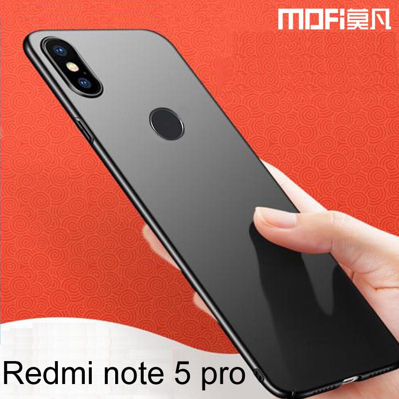 lowest price a8bcd 282f5 US $6.39 29% OFF|xiaomi redmi note 5 case cover global version fitted  original redmi note 5pro cover 5.99