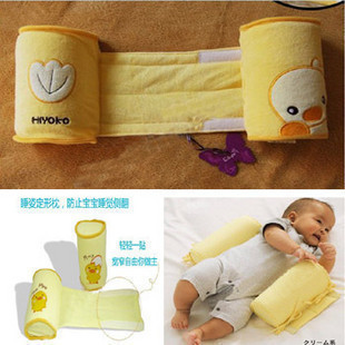 1 Piece Comfortable Cotton Anti Roll Pillow Lovely Baby Toddler Safe Cartoon Sleep Head Positioner Anti-rollover Baby Pillow