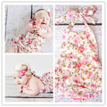 Free Shipping Posh Style Baby Girl Dress Pink Floral With Polka Dot Princess Dress Bubble Rompers Toddler Infant Girl Dress