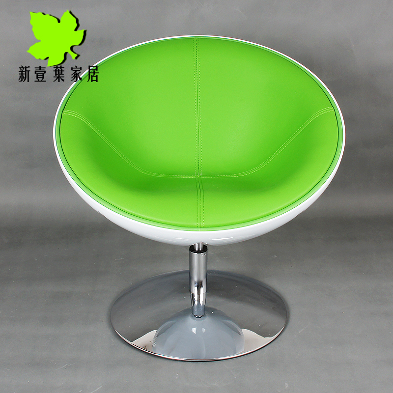 Cheap Half Moon swivel chair IKEA modern minimalist bedroom chair restaurant coffee lounge chair swivel chair computer-in Children Chairs from Furniture on ... & Cheap Half Moon swivel chair IKEA modern minimalist bedroom chair ...