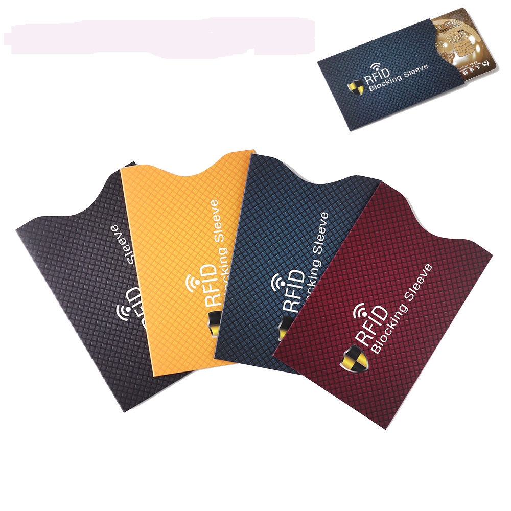 Skin-Case-Covers Cardholder-Sleeve Protection-Bank Credit-Card-Protector Blocking Anti-Theft