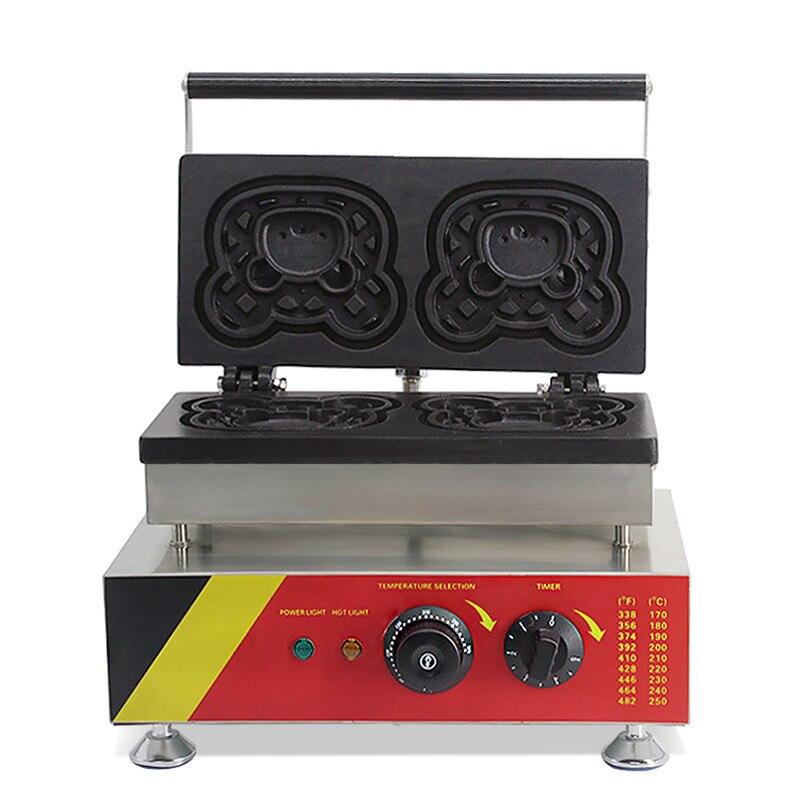 elétrica máquina de waffle multifuncional não-vara em