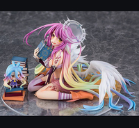 6 Anime No Game No Life Jibril Angel Wings 1:7 13cm PVC Action Figure Collection Model Doll Toy Gift