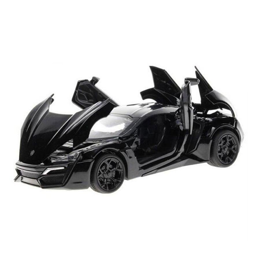 miniatura de carro fast and furious 7 model car 132 alloy diecast lykan hypersport