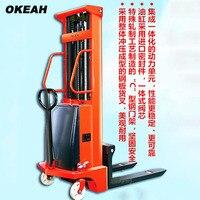 Alta qualidade empilhador semi elétrico capacidade de carga 1000kg altura de elevação 2m|height|   -