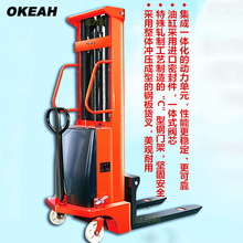 High Quality Semi-Electric Stacker Carrying Capacity 1000kg Lifting Height 2m