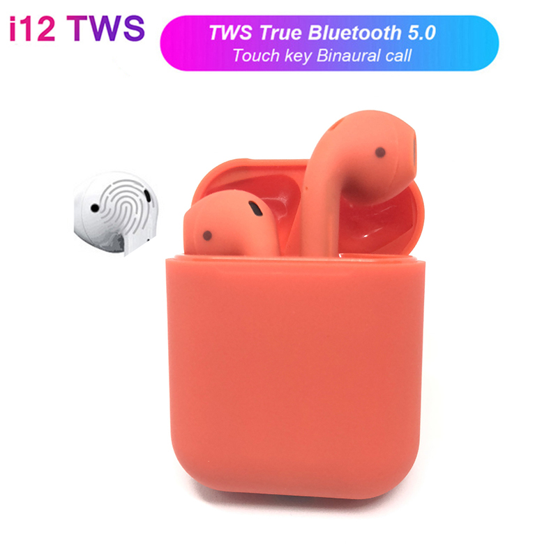 Air Pods i12 TWS PK I10 TWS Mini Wi-fi Bluetooth V5.zero Earphone Contact Management Binaural Name Earbuds For iPhone Android Xiaomi Bluetooth Earphones & Headphones, Low cost Bluetooth Earphones...