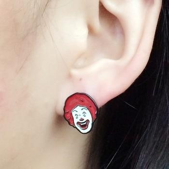 Сережки McDonalds 1