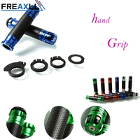 FREAXLL Motorcycle Hand Grips Retro Handle Rubber Bar Gel For Yamaha FZ6 FAZER FZ6R