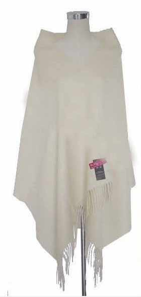 New Arrival Beige Ladies' 100% Wool Pashmina Classic Tassels Cape Large Long Shawl Scarf Free Shipping Oversize 180*72cm