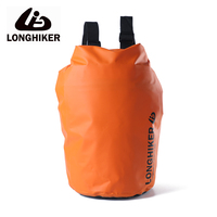 LONGHIKER Outdoor Water proof Dry Bag Backpack For Swimming Waterproof Beach Backpack Rafting Bag Pouch 5L/20L
