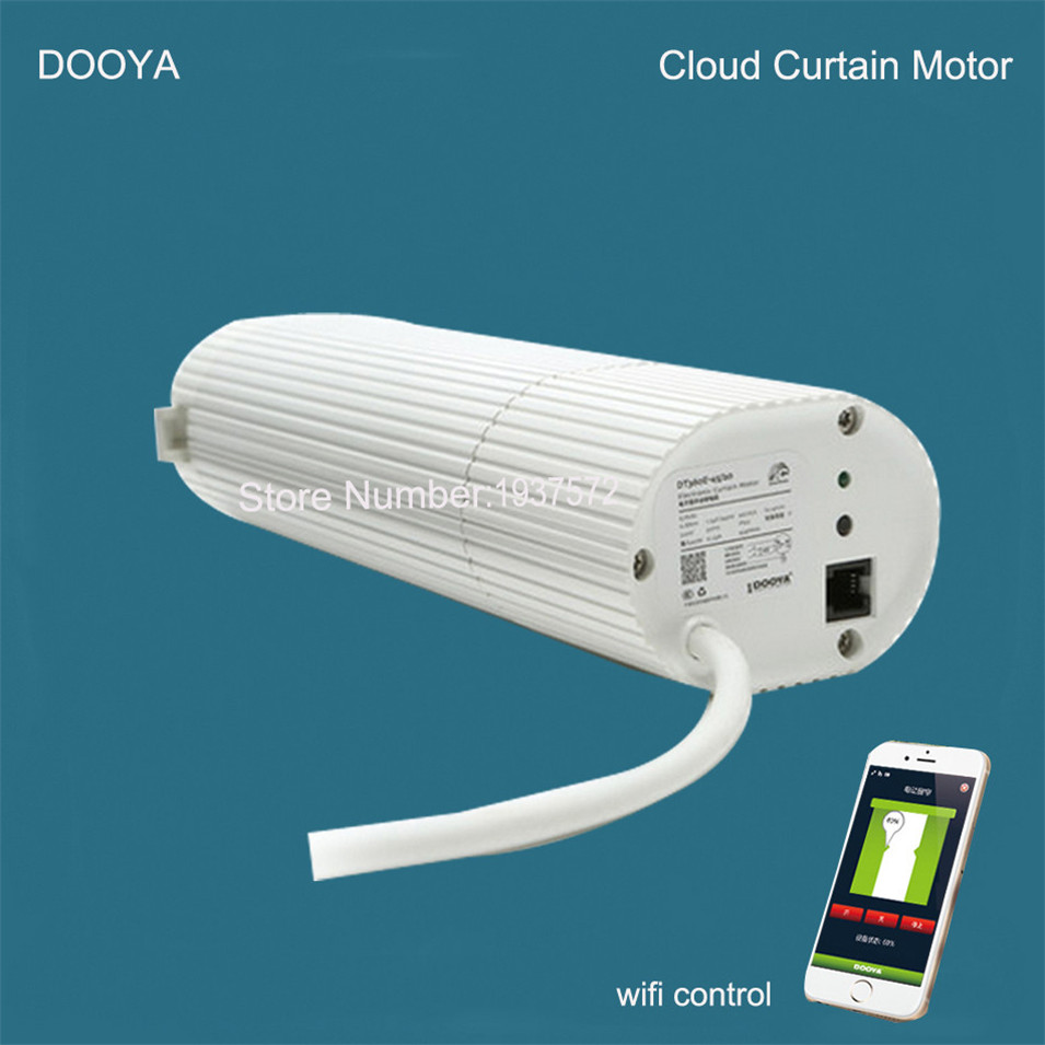 Broadlink DNA Dooya Motor Curtain Motor DT360E 45W IOS Android Remote Control Curtain For Smart Home