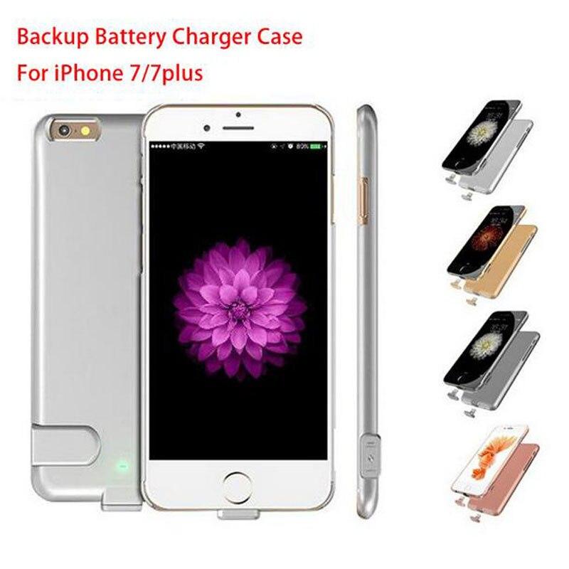 imágenes para 1500-2000 mah banco de la energía externa paquete delgado ultra fino de la caja de batería recargable del cargador de batería de reserva para iphone 7/7 plus