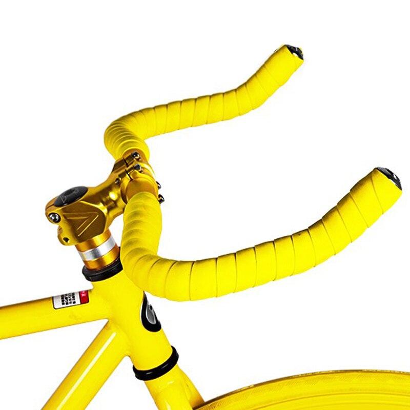 2 Bar Free Ningbao Colorful Cycling Handle Belt Bike Bicycle Cork Handlebar Tape Wrap