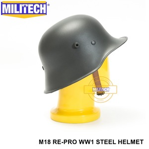 Image 5 - Free Shipping! MILITECH Grey World War One German M18 Helmet The Great War Repro Safety Helmet  WW1 German M18 Helmet WWi