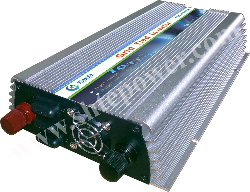 NEW! 1000W 12V-110V micro grid tie inverter for solar home system MPPT function ,high quality