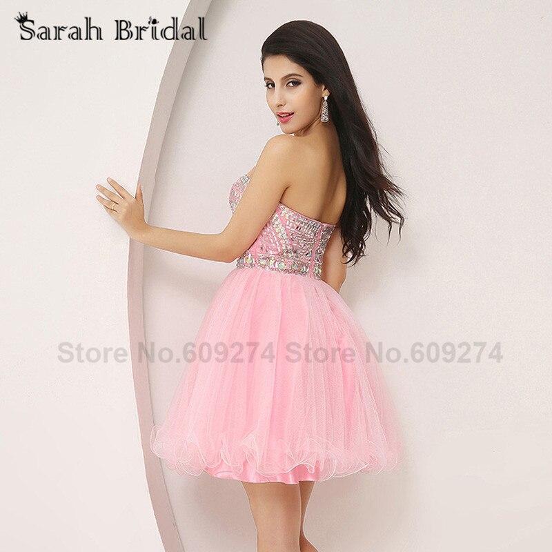 Perfecto Vestidos Cortos De Color Rosa Para Prom Elaboración - Ideas ...