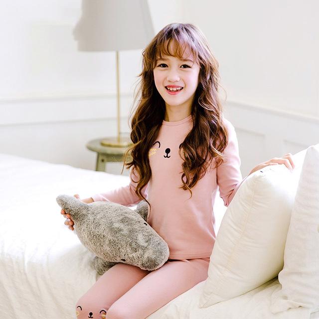 baby Pyjamas Kids Korean version lace princess Pink Cotton Pajamas Children Adult Onesie Pajama Girls Boys Sleepwear