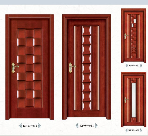 Interior glass closet doors picture more detailed for Puertas de madera para habitaciones