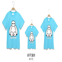Family T shirt 2017 Fashion Family matching clothes Mother Father Baby Daughter Son Outfits Family look for baby girl Tees