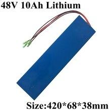 48 В 12Ah 10Ah DIY ebike литиевая батарея 500 Вт Аккумулятор для электровелосипеда скутер складной велосипед с 3A зарядным устройством