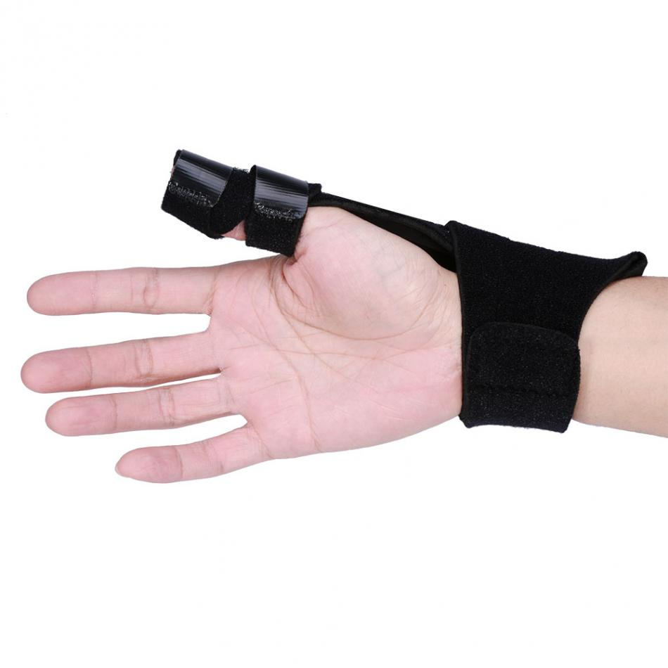 Finger Protector Adjustable Aluminium Finger Splint Hand Support Recovery Posture Corrector Brace Protection Injury Aid Tools