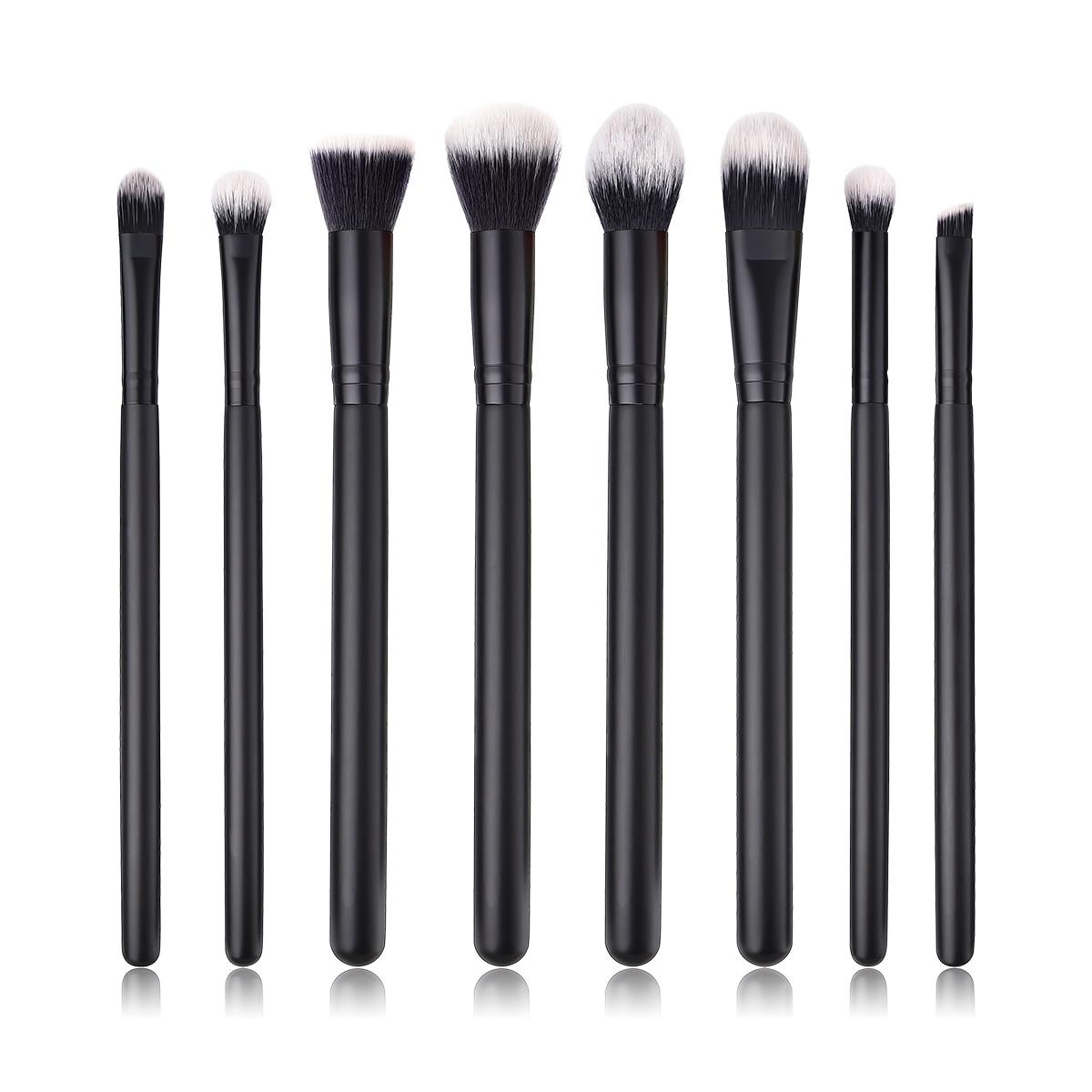BBL 8pcs Makeup Brushes Eye Shadow / Powder / Blender / Concealer / Flat Foundation / Blush / Kabuki Brush Reals Professional mymei new professional flat contour blusher kabuki blush brush makeup cosmetics tools