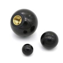 1 шт. M4/M5/M6/M8/M10 резьбовой пластиковый зажим медный сердечник ручка шариковая головка зажимные гайки ручка