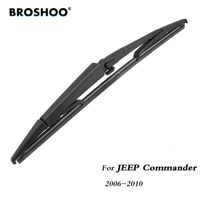 BROSHOO Car Rear Wiper Blades Back Windscreen Wiper Arm For JEEP Commander Hatchback (2006-2010) 365mm,Windshield Auto Styling
