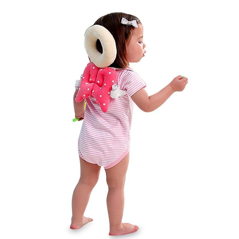 Baby pude nyfødt hovedbeskyttelse beskytter pad baby sikkerhed hjelm produkter toddler walking stick assistent sele bælte