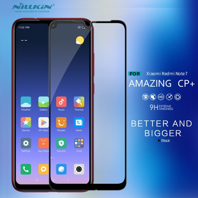 US $9 99 |Aliexpress com : Buy for xiaomi redmi note 7 2 5D tempered glass  Nillkin CP+ Oleophobic coating glass for Redmi note 7 Full Cover screen
