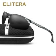 Polarized Sunglasses ELITERA Driving-Eyewear Brand Designer Men Aluminum E8179