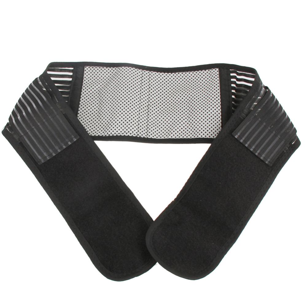 1 unids Ajustable Turmalina calentamiento Espontáneo Terapia Magnética de La Cintura Brace Cinturón Protección Apoyo Alivio del Dolor Lumbar cuidado de la salud