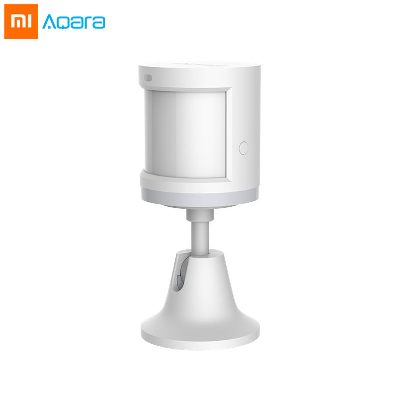 Xiaomi Aqara Human Body Sensor Smart Body Movement Motion and Light Sensor Holder Zigbee Connection Mihome App via Android&IOS купить в Москве 2019
