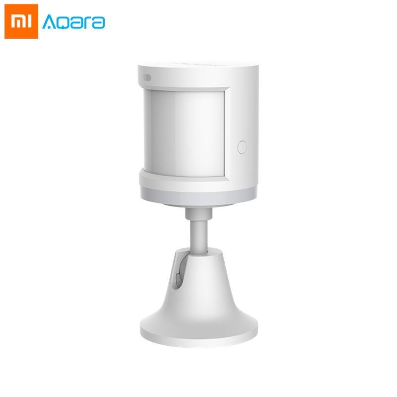 Xiaomi Aqara Human Body Sensor Smart Body Movement Motion and Light Sensor Holder Zigbee Connection Mihome App via Android&IOS