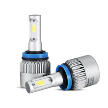 Oslamp H11 LED Car Headlight COB 72W Led Fog Light Bulb 6500K 8000lm Auto Headlamp for