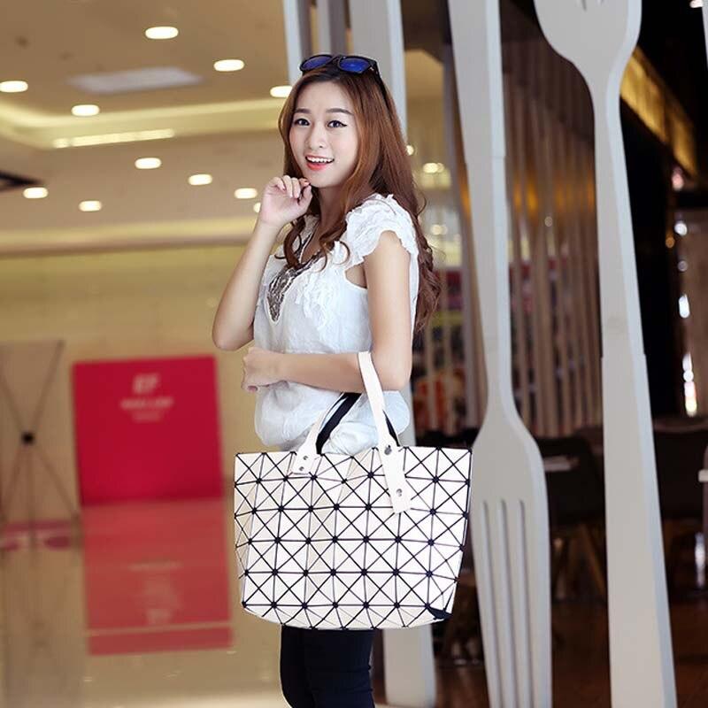 2017 moda bao bao issey Crossbady Bags Material : High Quality PU